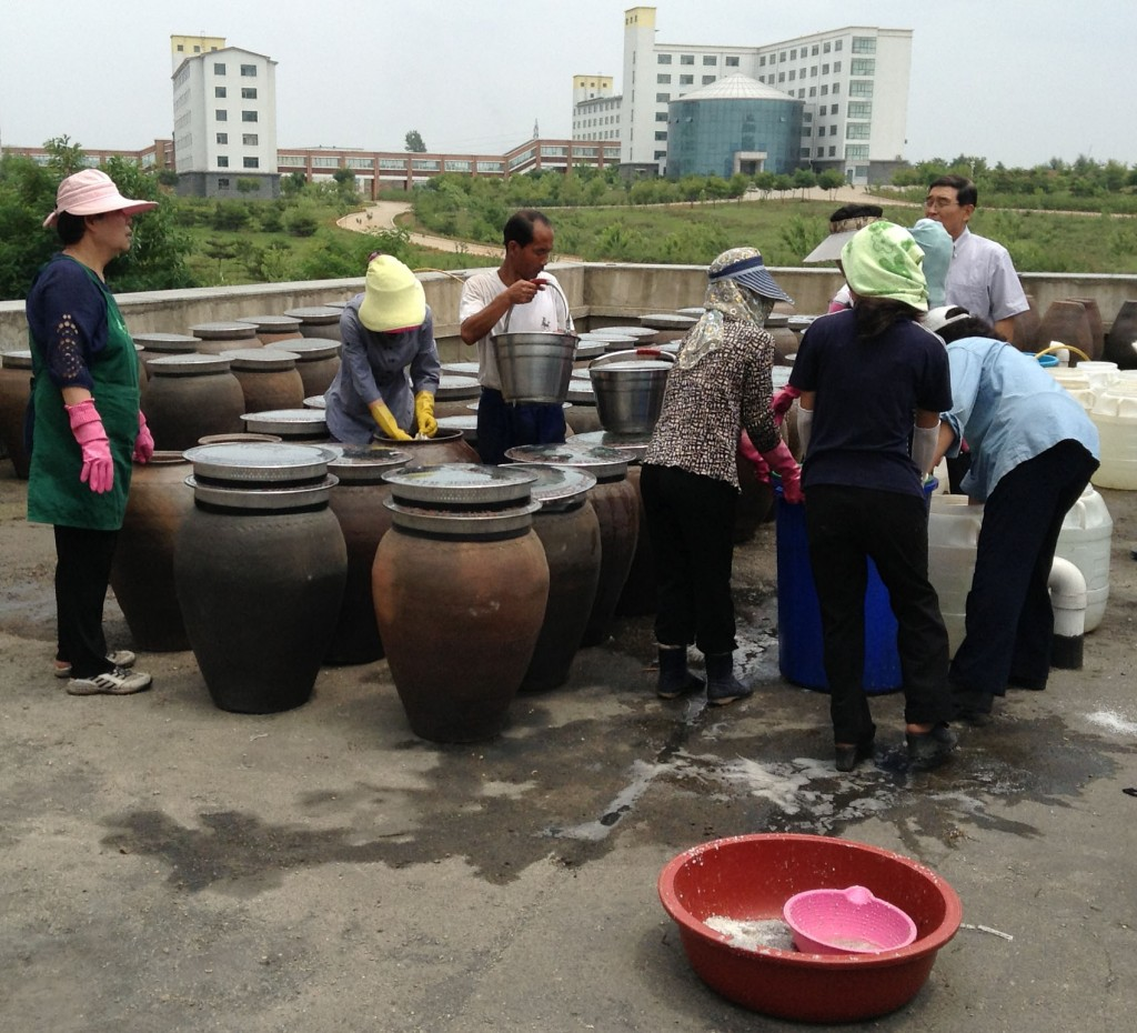 Pots of Soybean Paste